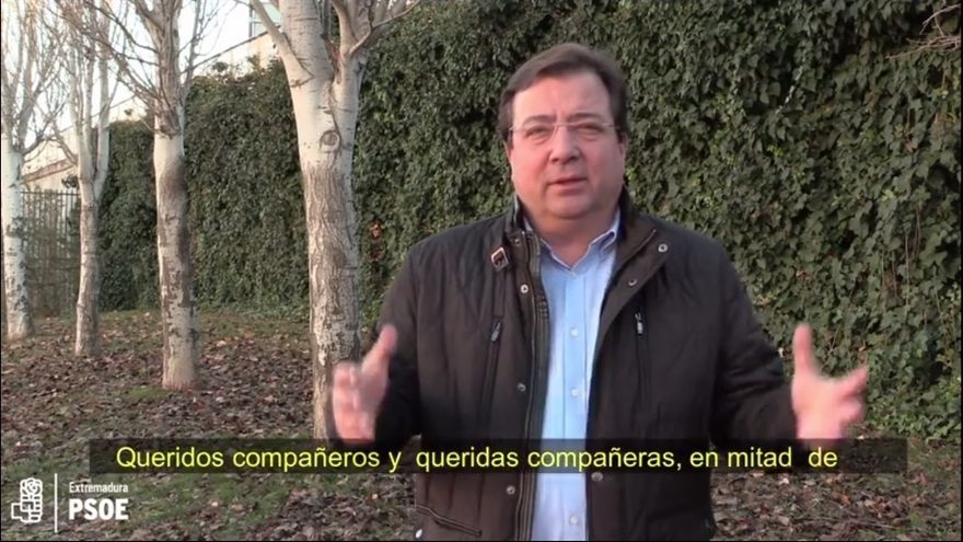 """Vara dice que """"la unidad es clave"""" en los """"enormes desafíos"""" del PSOE y aboga por discutir """"dentro de casa"""""""