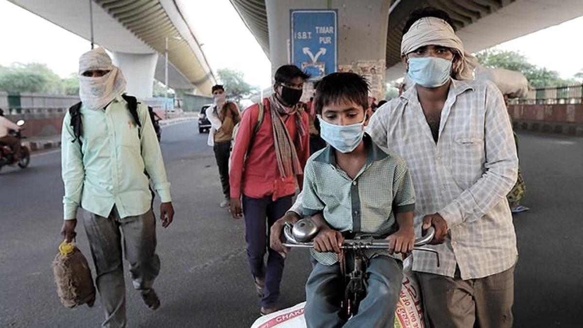 La variante B.1.617 detectada en India mostró que es más contagiosa.