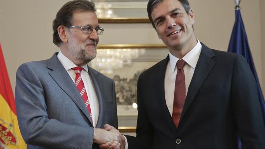 Rajoy y Sánchez recuperan la cordialidad en las formas