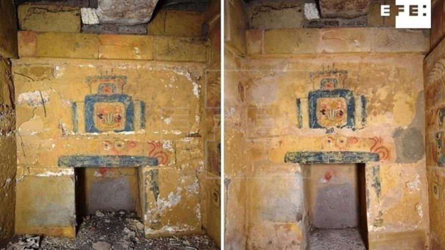 México replicará una tumba milenaria mixteca que afloró en el sismo de 2017