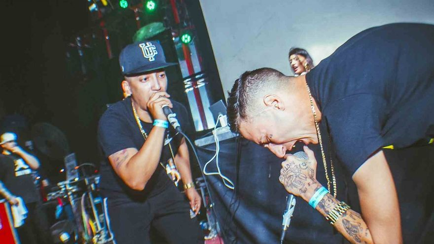 Khaled y Yung Beef, de PXXR GVNG