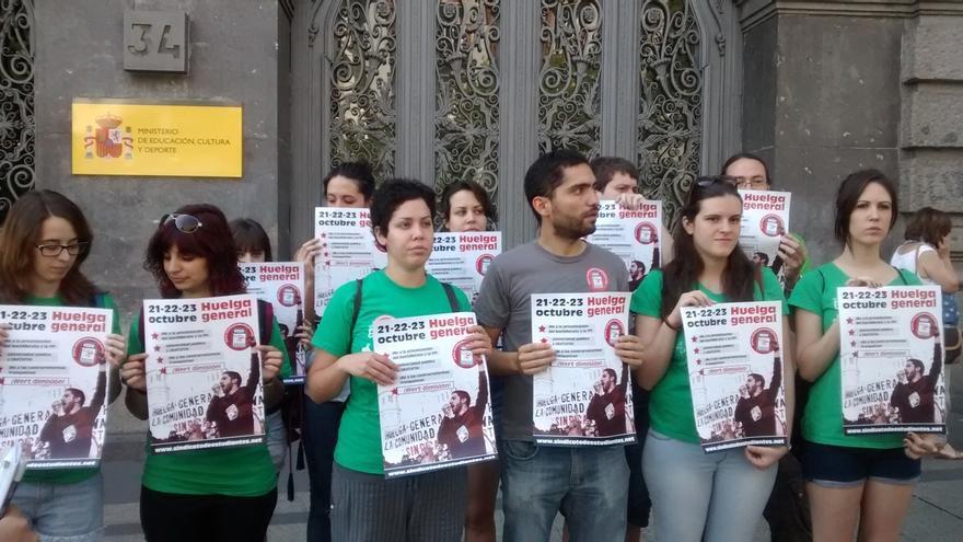 """Estudiantes lamentan que la Junta haya aceptado """"la política de recortes y el espíritu"""" de la Lomce y anuncian protestas"""