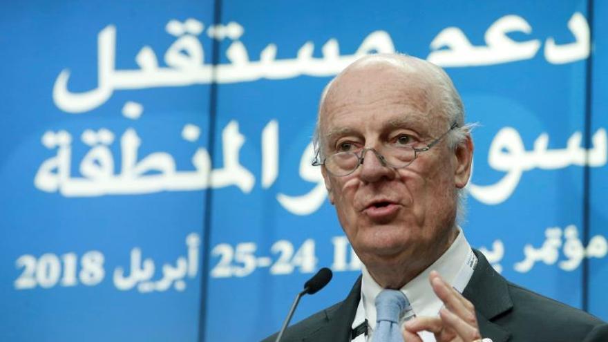 El mediador de la ONU para Siria consultará con Washington y Riad en Ginebra
