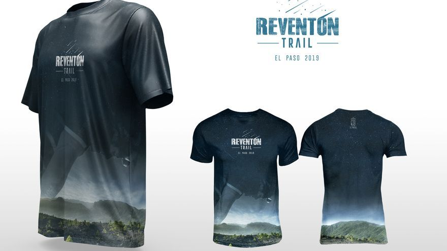Camiseta oficial de la próxima 'Reventón Trail'.