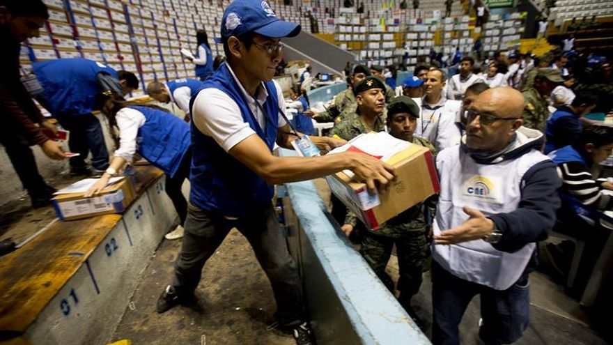 Lenin Moreno es declarado presidente electo de Ecuador tras el recuento parcial