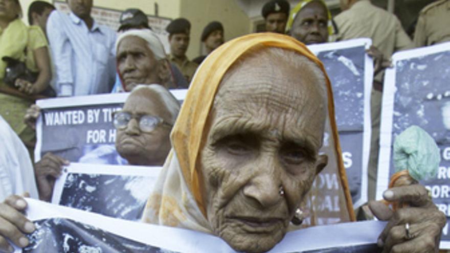 Desasatre de Bhopal en la India