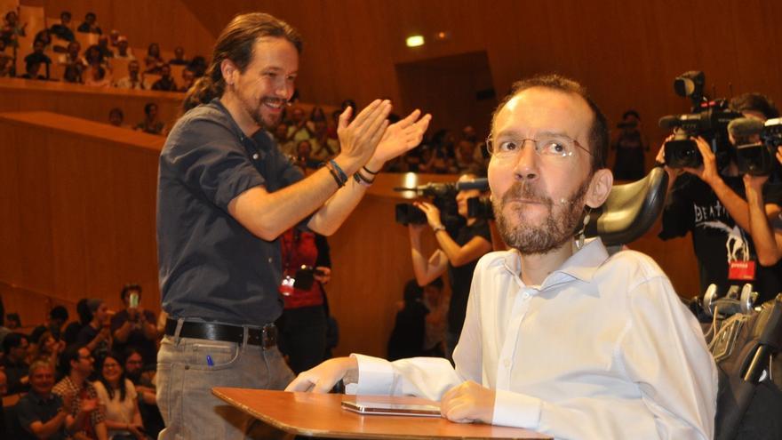 """Iglesias elogia el """"ejemplo moral"""" de Echenique por mantener un asistente aun sin darle de alta en la Seguridad Social"""
