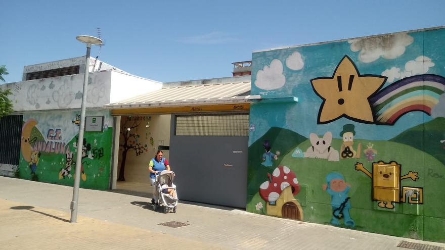 La escuela infantil sevillana Andaluna, una de las afectadas por esta medida.