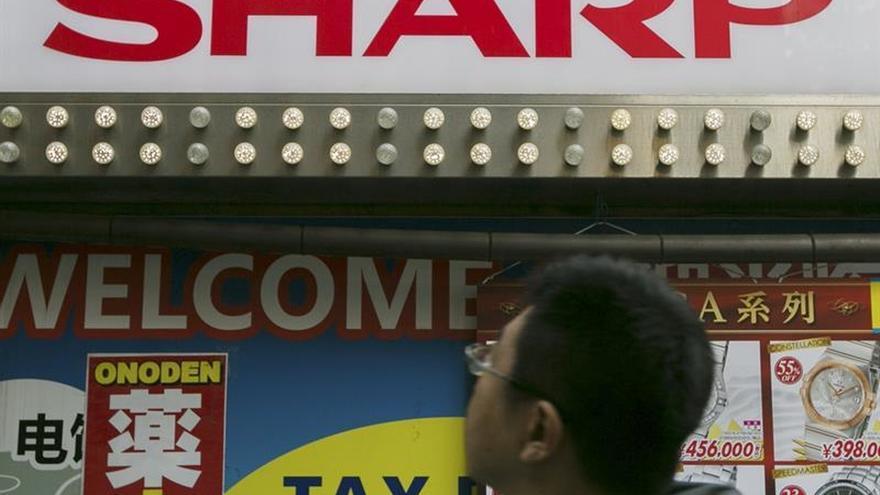 Sharp reduce un 97 % sus pérdidas netas hasta los 205 millones de euros