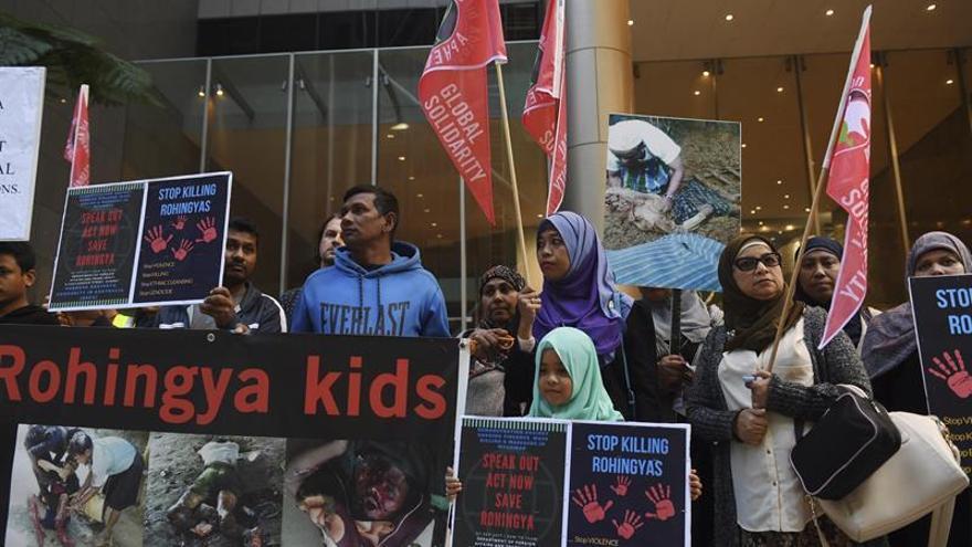 La ONU eleva a 164.000 los rohinyás llegados a Bangladesh
