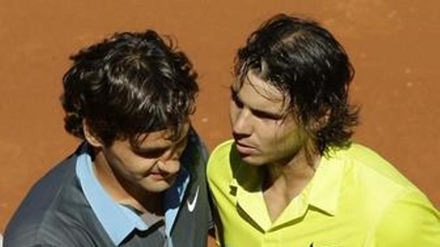 Federer y Nadal mantienen las distancias y Ferrero vuelve casi un año y medio después al 'top 20' de la ATP