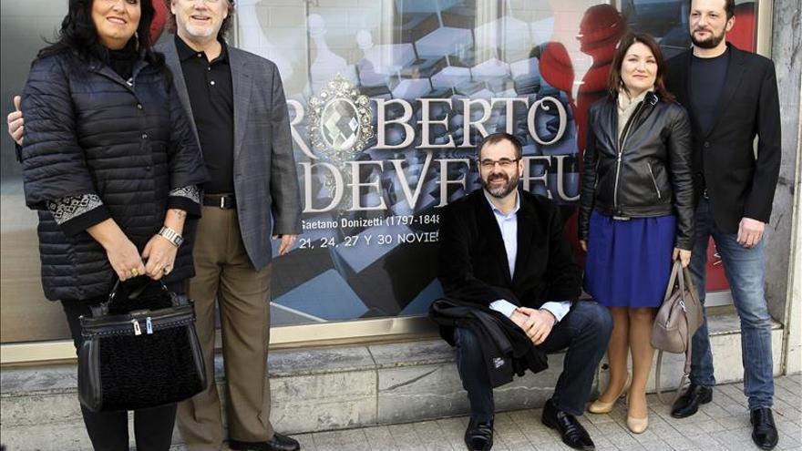 """La ópera """"Roberto Devereux"""" se representará por tercera vez en Bilbao"""