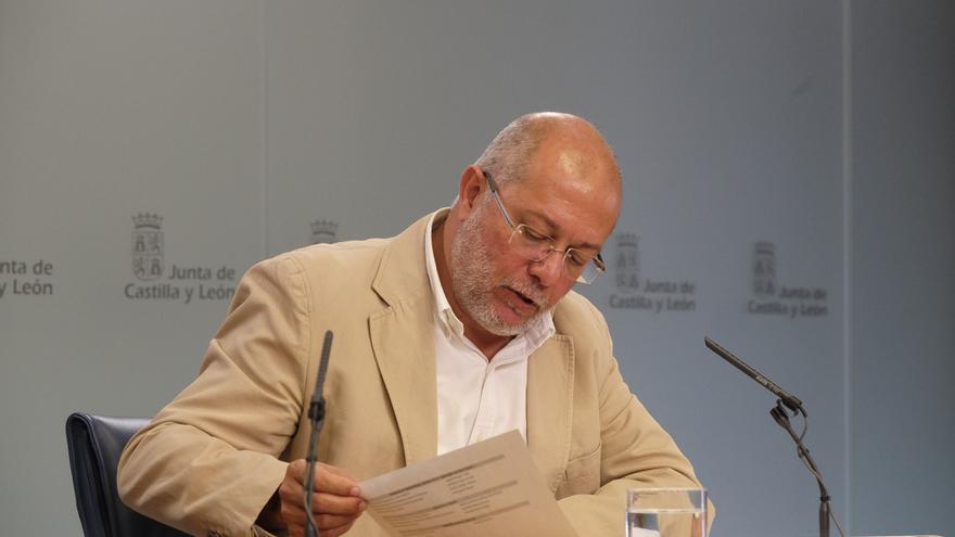 El vicepresidente y consejero de Transparencia de la Junta de Castilla y León, Francisco Igea