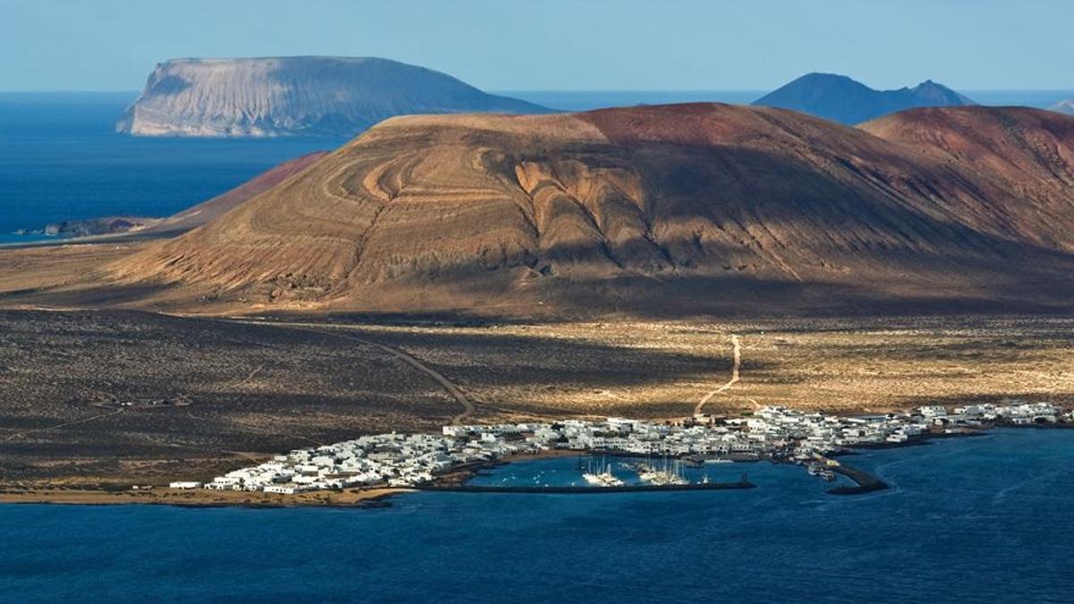 Isla de La Graciosa, vista desde Lanzarote