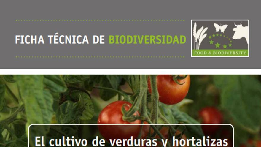 Ficha técnica de biodiversidad