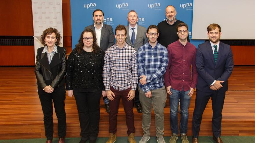 Javier Resano e Ignacio Vitoria, ganadores de los Premios Fin de Estudios de Emprendimiento de la UPNA