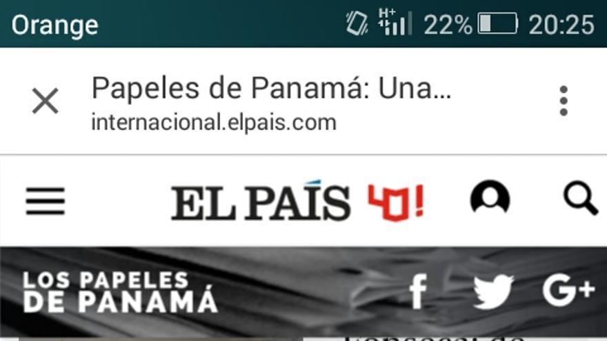 'Panamá Papers', las últimas noticias del caso,  en El País