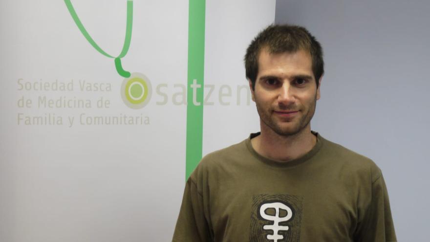 Gorka Maiz, presidente de Osatzen