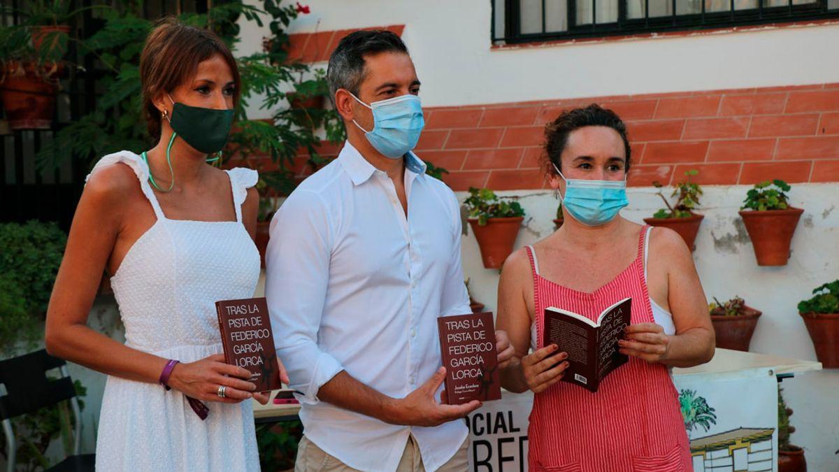 Presentación de 'Tras la pista de Federico García Lorca', este viernes en Córdoba.