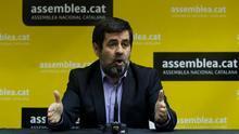 El president de l'ANC, Jordi Sánchez