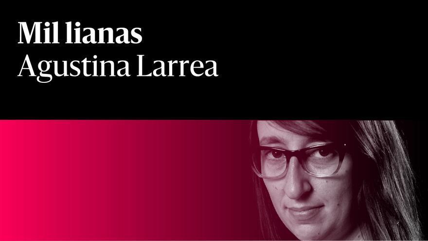 Agustina Larrea Mil Lianas rojo