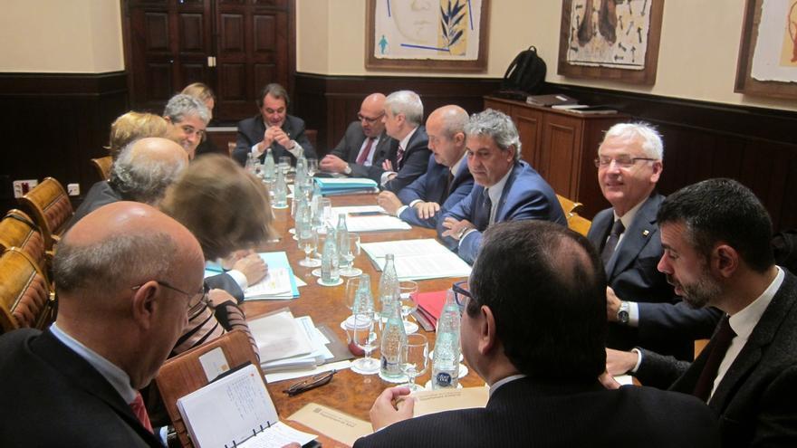 Homs asiste a su última reunión del Govern antes de dejarlo para ser candidato