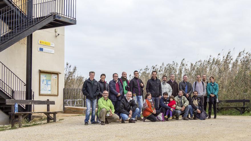 Algunos de los participantes en el seminario sobre voluntariado y erradicación de tortugas exóticas