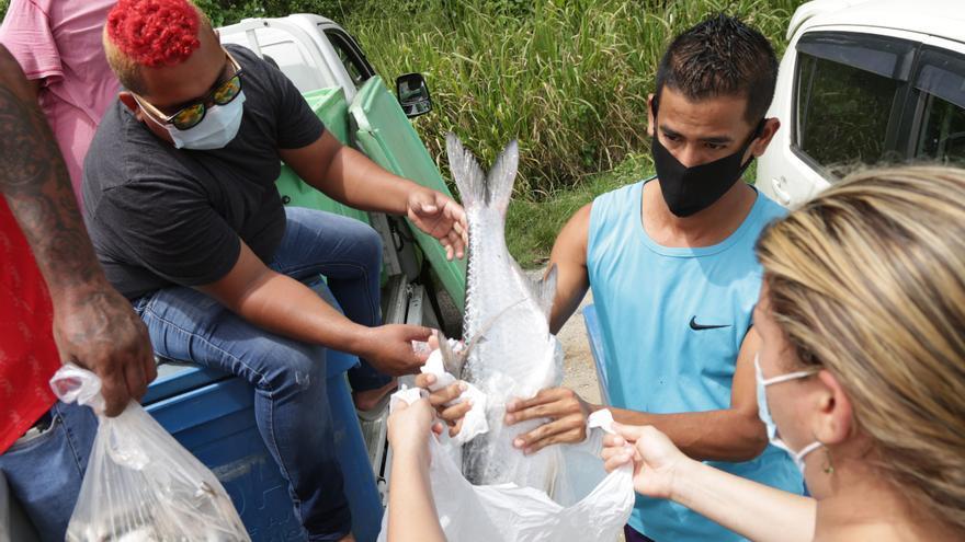 El pescador Carlos Hernandez, la esperanza de los venezolanos en Trinidad y Tobago