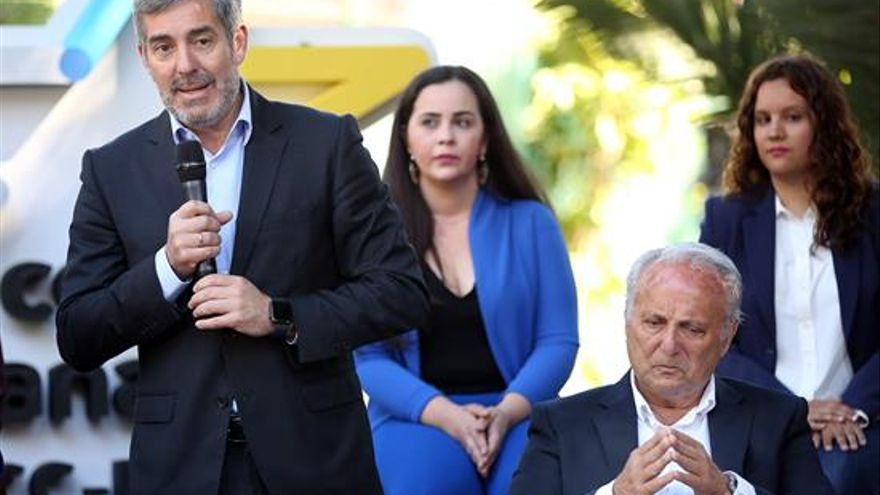 Fernando Clavijo, presidente del Gobierno de Canarias.