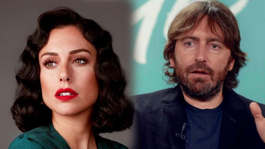 La actriz Blanca Suárez y el director Daniel Sánchez Arévalo