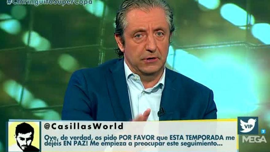 Casillas estalla de madrugada contra el 'Chiringuito' de Pedrerol: '¡Por favor, dejadme en paz!'