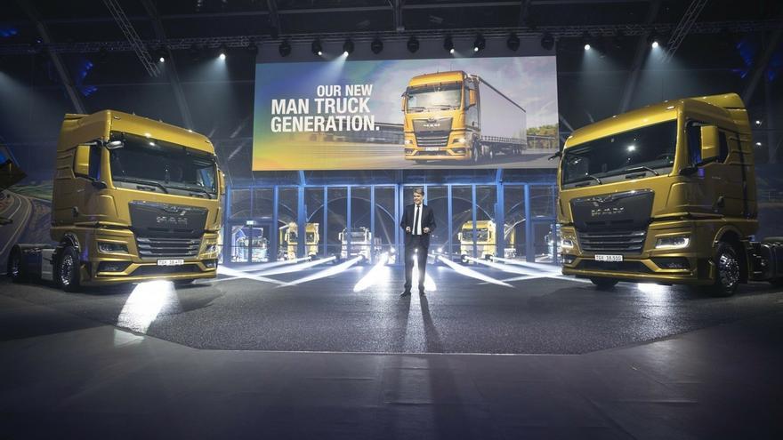 MAN elige el Bilbao Exhibition Centre para presentar su última generación de camiones