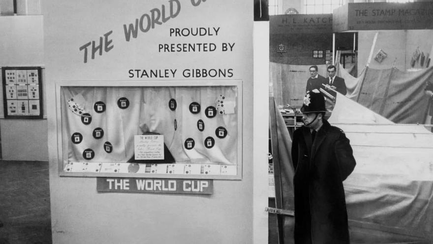 Exposición donde se exhibió la Copa