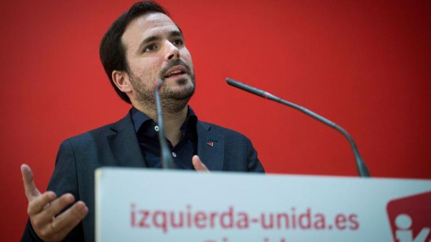 IU consultará a la militancia si entra en el gobierno de Sánchez e Iglesias