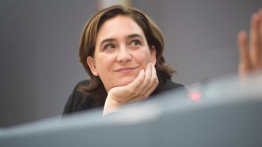 Ada Colau visitó a Jordi Sánchez y Jordi Cuixart en la prisión de Lledoners