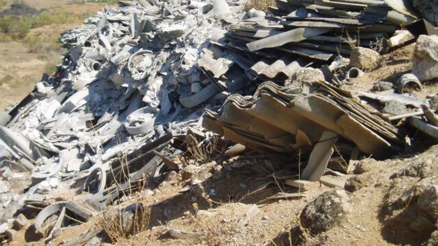 Vertidos ilegales de amianto en Toledo