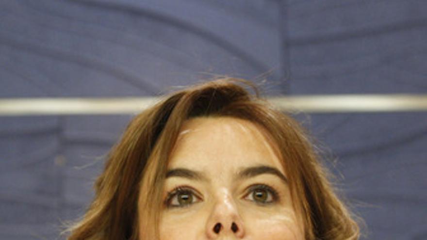 Portavoz del Grupo Popular en el Congreso, Soraya Sáenz de Santamaría,