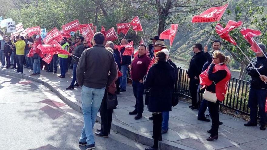 Protesta de vigilantes de seguridad / Europa Press