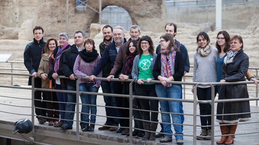 El acto se ha desarrollado en el teatro romano de Zaragoza.
