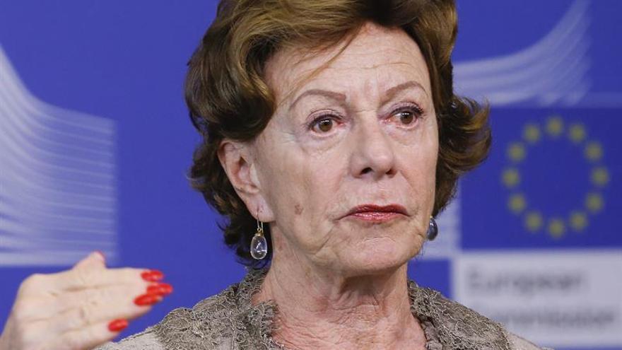 La CE analizará el caso de la excomisaria Kroes por una sociedad opaca en las Bahamas