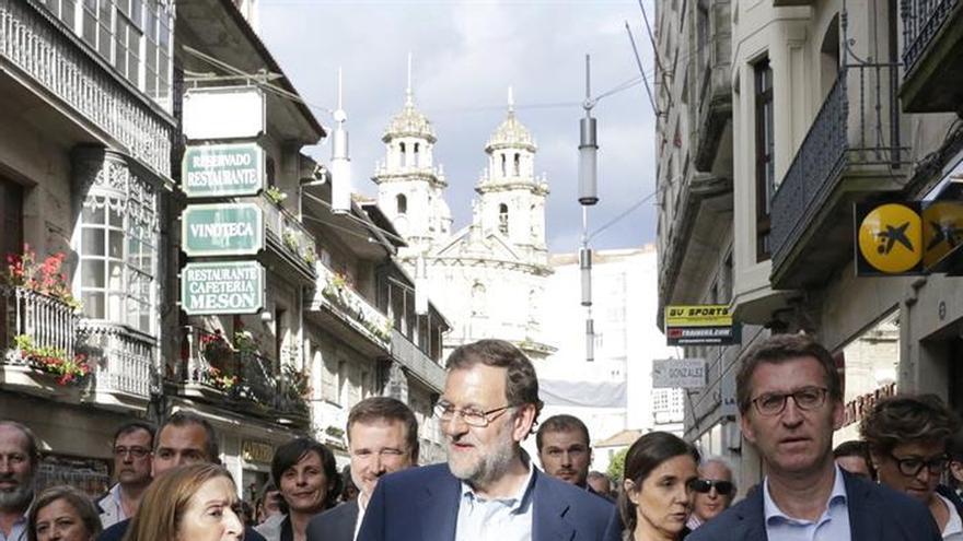 """Rajoy en Pontevedra: """"Ya he recuperado las gafas después de la última vez"""""""