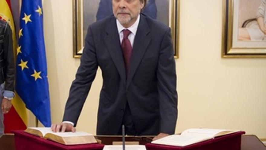 Ramón Ramos, en su toma de posesión como presidente del Centro de Investigacione