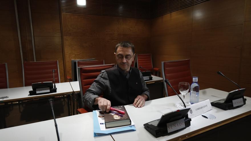 """Monedero dice que el director del canal en el que se emitía La Tuerka """"no tiene la más mínima prueba"""" de sus acusaciones"""