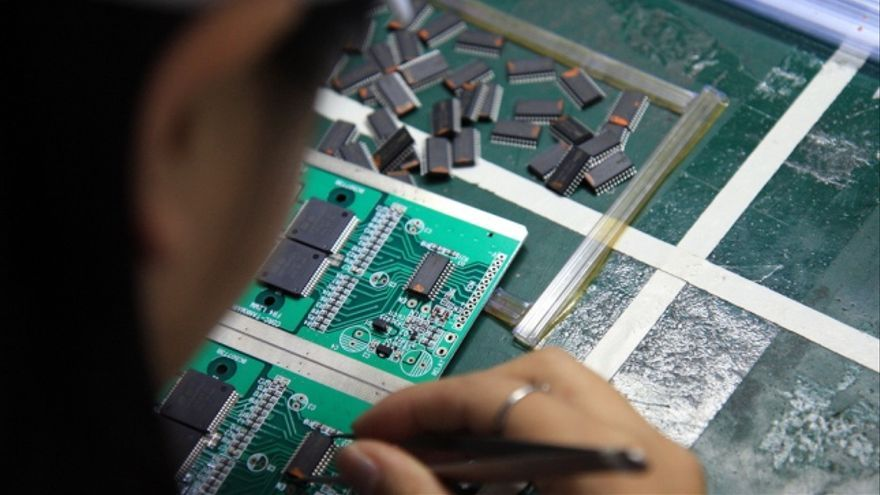 La fabricación en China