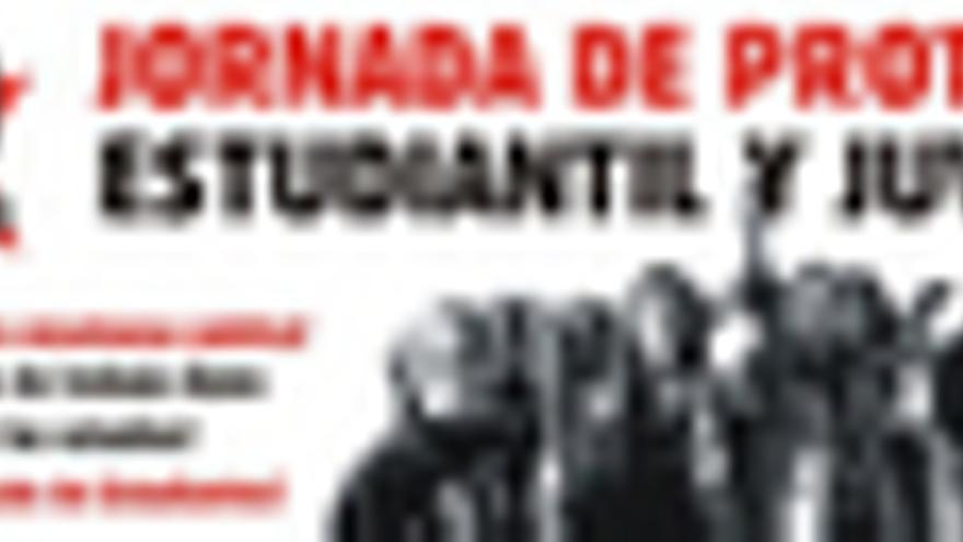 Manifestación del Sindicato de Estudiantes