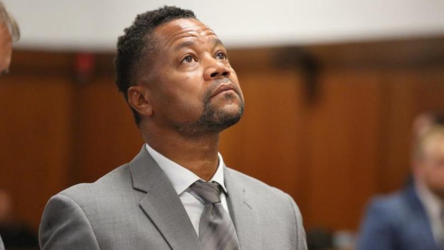En la imagen un registro del actor estadounidense Cuba Gooding Jr, quien es acusado de manosear a tres mujeres en bares de Manhattan en 2018 y 2019, de lo que se ha declarado no culpable.