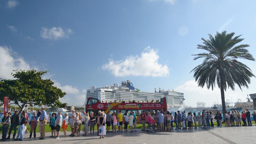 Más de 36.000 cruceristas arribarán a Las Palmas de Gran Canaria entre Nochebuena y Fin de Año.