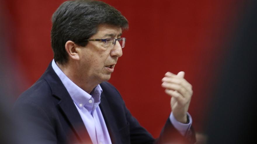 """Susana Díaz anuncia una Ley de Subvenciones que dé """"seguridad total"""" y Marín (Cs) critica que lleguen """"tarde y mal"""""""