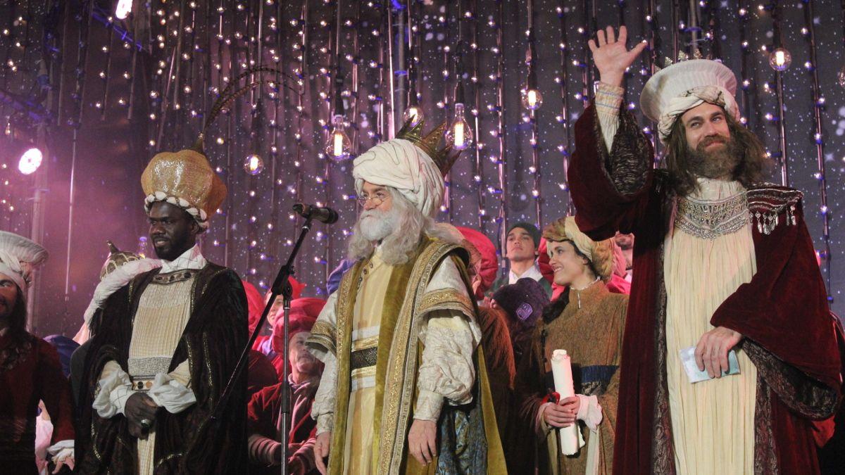 Los Reyes Magos en la Cabalgata de 2018 | SOMOS CHUECA
