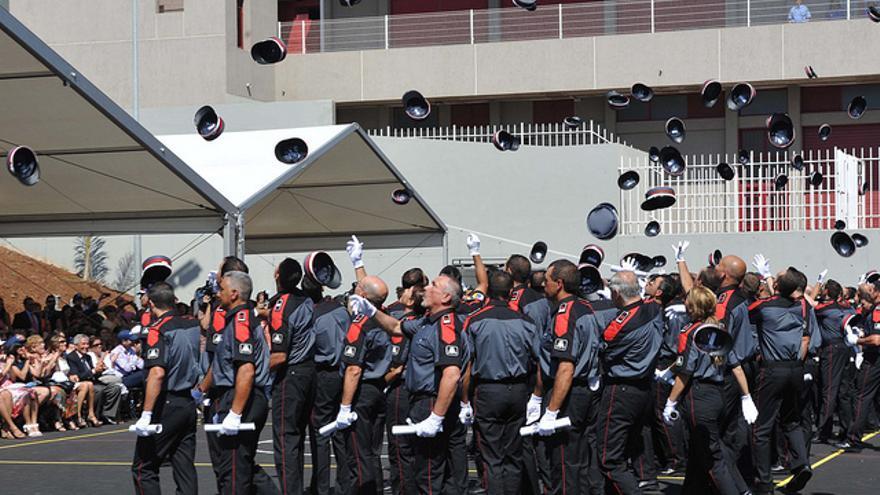 Primera promoción de la Policía Canaria